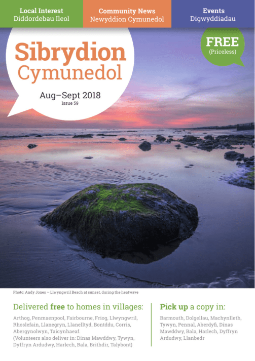 community events north wales, local business gwynedd, sibrydion cymuned magazine